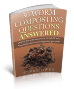 30 worm composting questions answered